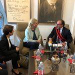 Takimi me Ambasadoren e Hollandës në Shqipëri