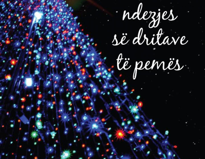 Së bashku për të ndezur dritat e pemës se Vitit Te Ri